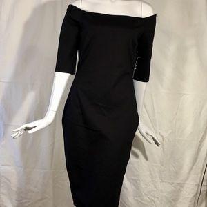 NWTs Lulu's Off Shoulder Wiggle Dress Gorgeous Lrg